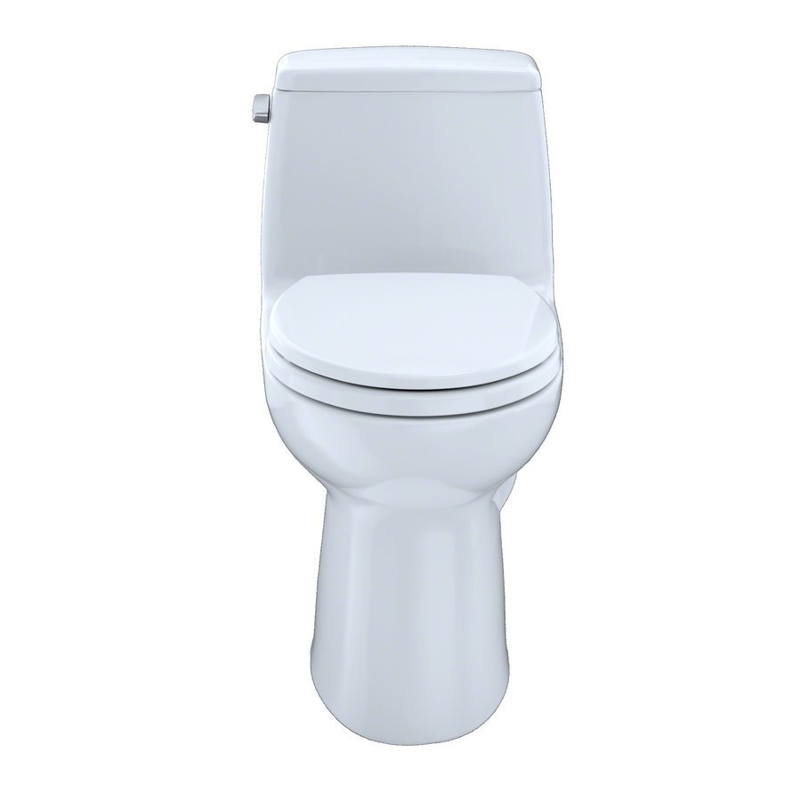 TOTO Eco Ultramax One-Piece Elongated 1.28 GPF Toilet - Colonial White MS854114E#11