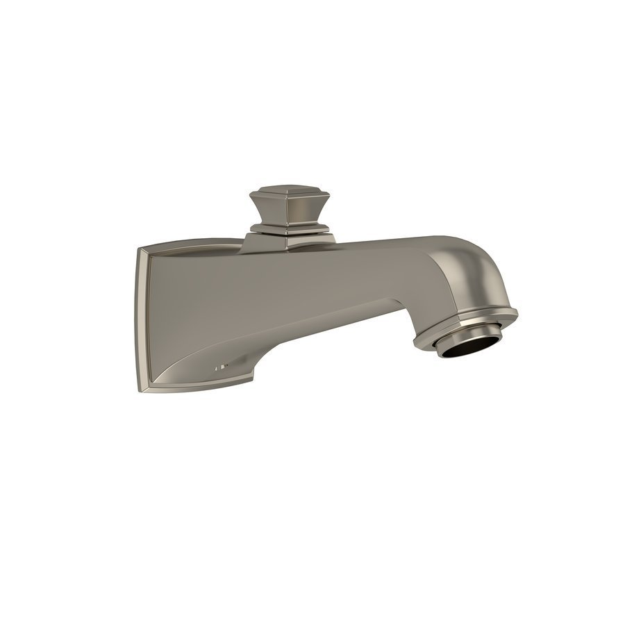 TOTO Connelly Wall Tub Spout With Diverter - Brushed Nickel TS221EV#BN