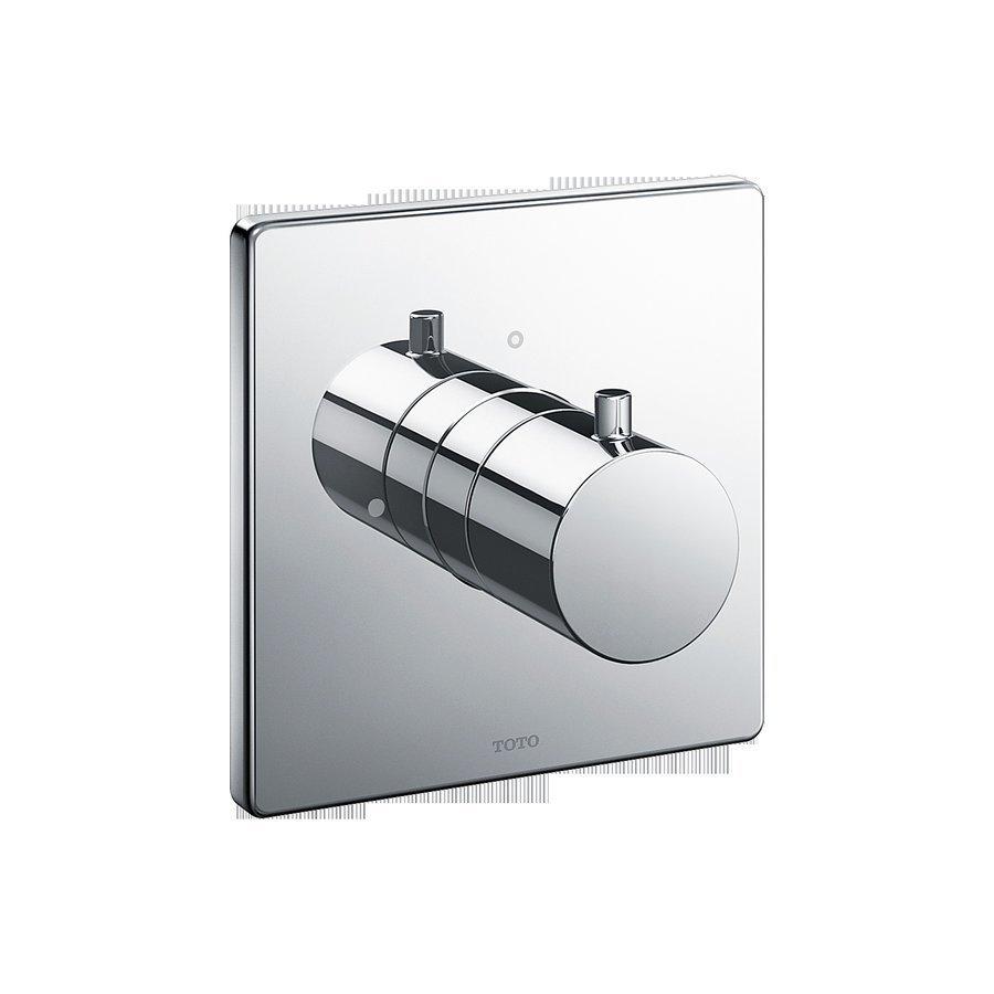 TOTO Square Volume Control Valve Shower Trim - Polished Chrome TBV02101U#CP