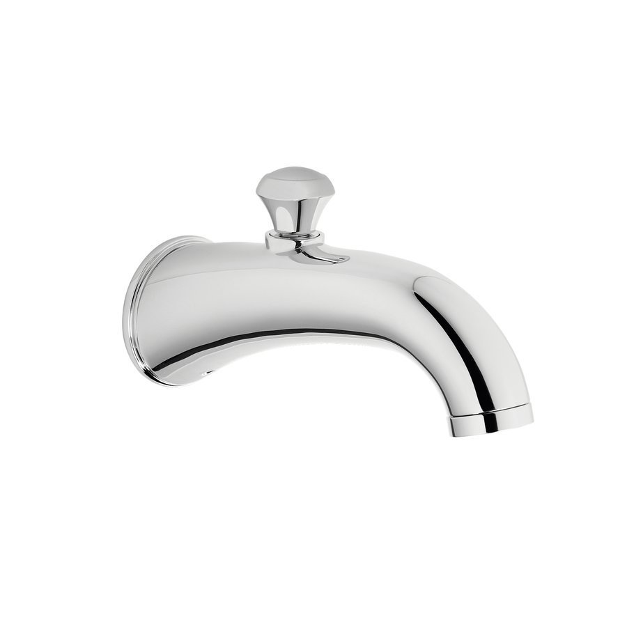 TOTO Silas Wall Tub Spout With Diverter - Polished Chrome TS210EV#CP