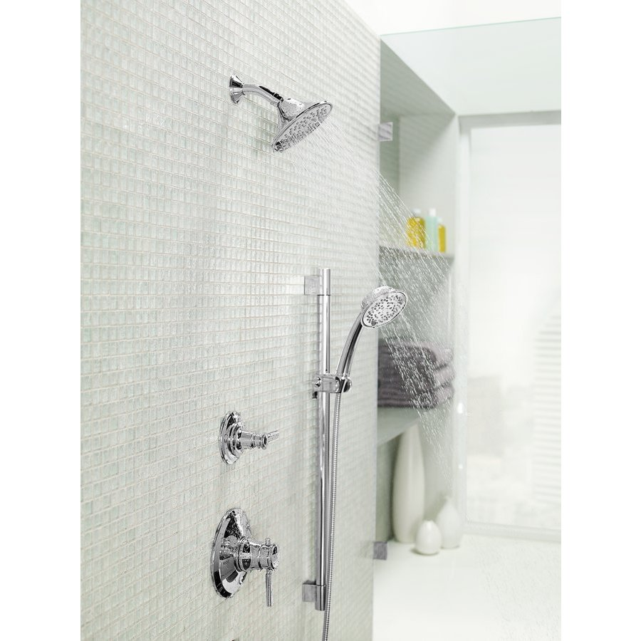 TOTO Transitional Collection Series A Single-Spray 2.0 GPM 5.5 inch Showerhead, Polished Crome TS200AL61#CP