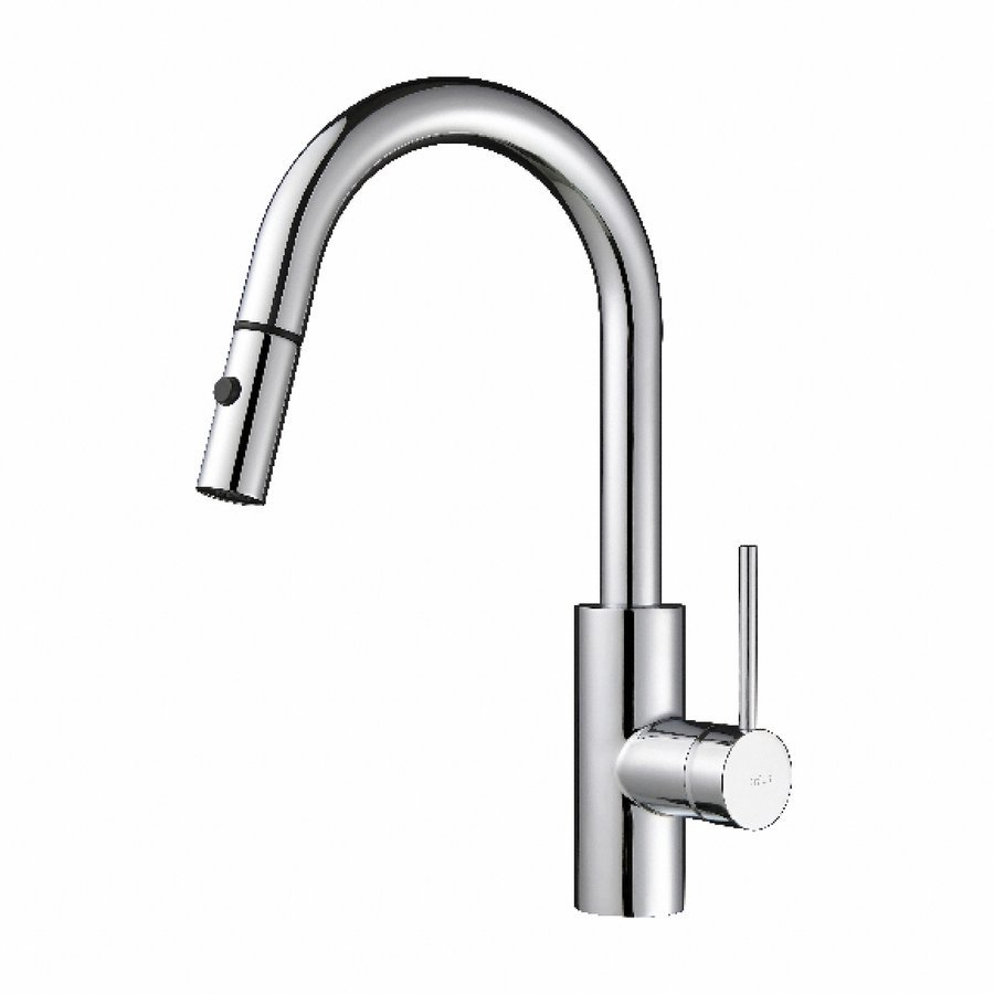 Kraus Oletto One Handle Pull-Out Kitchen Faucet - Chrome KPF-2620CH