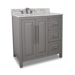 """36"""" Cade Contempo Single Sink Bathroom Vanity - Gray"""