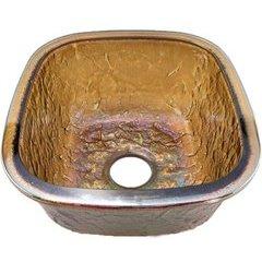 """14-1/8"""" W x 15-3/4"""" L Green Reflections Undermount Kitchen Sink"""