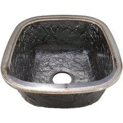 """14-1/8"""" W x 15-3/4"""" L Steel Gray Undermount Kitchen Sink"""