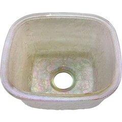 """14-1/8"""" W x 15-3/4"""" L Pearl Undermount Kitchen Sink"""