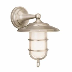 Rockford 1 Light Bathroom Sconce - Antique Nickel
