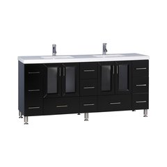 "72"" Westfield Single Sink Vanity - Espresso"