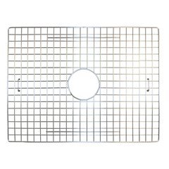 "20"" x 14"" Kitchen Sink Bottom Grid - Stainless Steel"