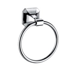 Valhalla Towel Ring Polished Chrome