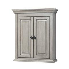 "24"" Corsicana Bathroom Wall Cabinet - Gray"