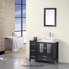 "36"" Arlington Single Vessel Sink Bathroom Vanity - Espresso"