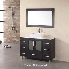 "48"" Stanton SingleVessel Sink Bathroom Vanity - Espresso"