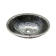 "16-3/8"" X 19-3/4"" Undermount Bathroom Sink - Steel Grey"