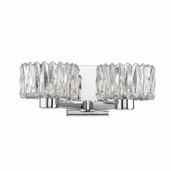 Anson 2 Light Bathroom Vanity Light - Polished Chrome