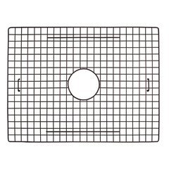 "20"" x 14"" Kitchen Sink Bottom Grid - Mocha"