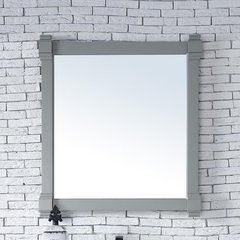 "35"" x 40"" Brittany Wall Mount Bathroom Mirror - Urban Gray"