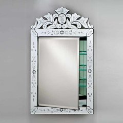 "27"" x 21"" Radiance Recessed Mirrored Medicine Cabinet"