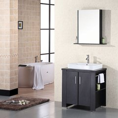 "36"" Washington Single Sink Bathroom Vanity - Espresso"