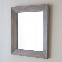 "33"" x 29"" Portola Wall Mount Mirror - Ash"