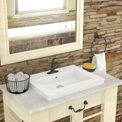 "Chloe 8.75"" x 26.25"" Drop in Sink"