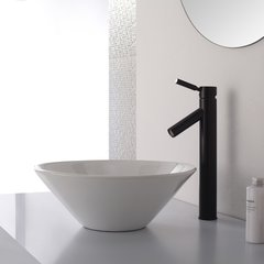 Sheven Vessel Bathroom Faucet - Oil Rubbed Bronze