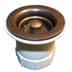 "2"" Round Jr. Strainer - Weathered Copper"