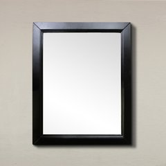 "36"" x 30"" Wall Mount Mirror - Espresso"