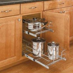 5WB Series Pullout Chrome Baskets by Rev-A-Shelf