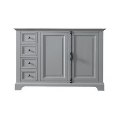 """48"""" Providence Single Cabinet only w/o Top - Urban Gray"""