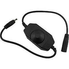 LED Tape In line Dimmer - Black