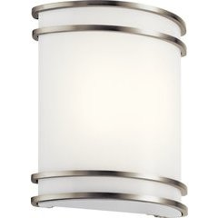 10.75 Inch 1 Light LED Wall Sconce - Brushed Nickel