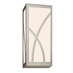 Haiku LED Bathroom Sconce - Satin Nickel