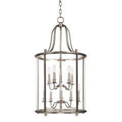 Mansfield 10 Light Island Pendant - Polished Nickel <small>(#1320-PN)</small>