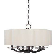 Garrison 6 Light Chandelier - Old Bronze