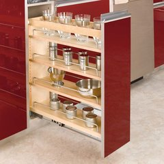 "Rev A Shelf 3 Tier Frameless Organizer 6.5""-Wood"
