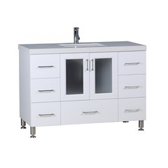 "48"" Westfield Single Sink Vanity - White"