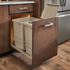 53WC Series Double Pullout Waste Containers by Rev-A-Shelf