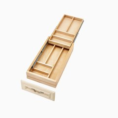 4WTCD Soft Close Double Cutlery Drawer for 15 inch Cabinet