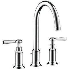 Montreux Widespread Faucet with Lever Handles - Chrome