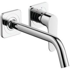 Citterio M Wall-Mounted Single-Handle Faucet Trim - Chrome