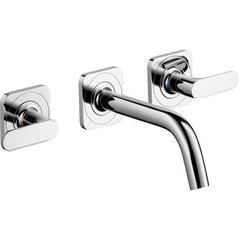 Citterio M Wall-Mounted Widespread Faucet Trim - Chrome