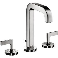 Citterio Widespread Faucet with Lever Handles - Chrome