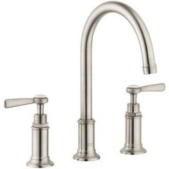 Montreux Widespread Faucet with Lever Handles - Brushed Nickel