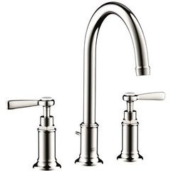 Montreux Widespread Faucet with Lever Handles - Polished Nickel