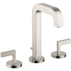 Citterio Widespread Faucet with Lever Handles - Brushed Nickel