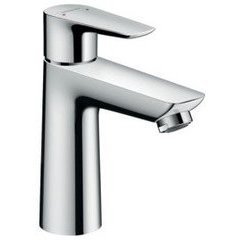 Talis E 110 Single-Hole Faucet without Pop-Up - Chrome