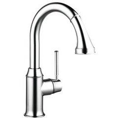 Talis C 2-Spray Prep Kitchen Faucet, Pull-Down, 1.75 GPM - Chrome