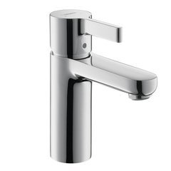 Metris S One-Handle Single Hole Bathroom Faucet - Chrome
