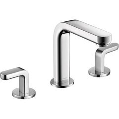 Metris S Two-Handle Widespread Bathroom Faucet - Chrome